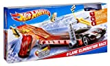 Hot Wheels 4-Lane Elimination Race Trackset - Kids Can Experience The Thrill Of High-Speed Racing Toy / Game / Play / Child / Kid