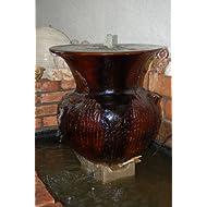 Fontaine, vase céramique (19609)