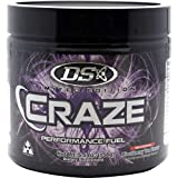 Driven Sports - Craze Pre-Workout 30 Servings Blackberry Tea