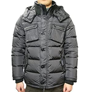 [モンクレール]MONCLER 【LISBONNE リスボン】メンズ ダウンジャケット ダークグレー41365 00 54155 923[並行輸入品]