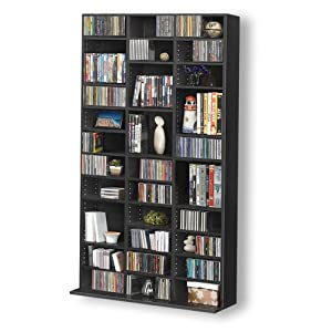 Buying Guide of  1116 CD/528 DVD Storage Shelf Rack Unit Adjustable Book Bluray Video Games
