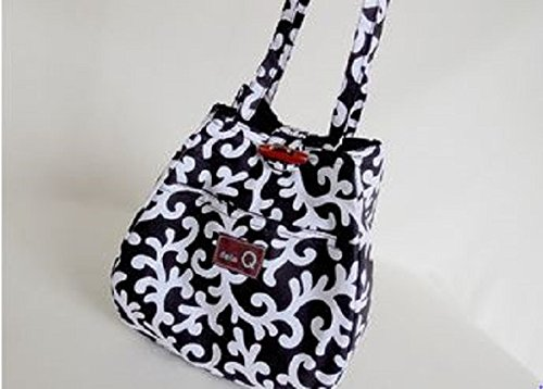 Della Q Rosemary Small Project Knitting Yarn Tote Bag 220-1 Meridian from Della Q