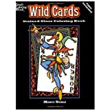 Wild Cards Stained Glass Coloring Bookby Marty Noble