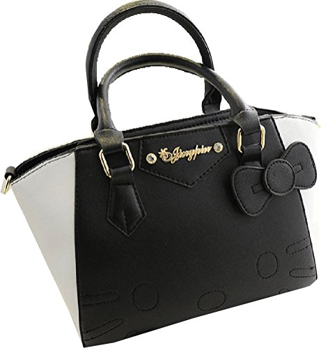 Buenocn-Women-Hello-Kitty-Top-Handle-Bag-Bow-Decorated-Pu-Leather-Handbag-Shy381