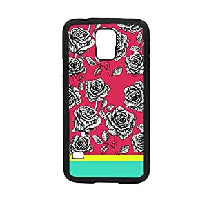 Vibhar printed case back cover for Samsung Galaxy S5 PinkRoses