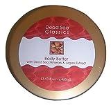 Dead Sea Classics Argan Body Butter Dead Sea Minerals - 13.53 fl. oz.