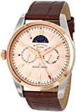 Jacques Lemans Men's 1-1596D Liferpool Moonphase Sport Analog with Moonphase Watch