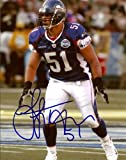 Lofa Tatupu Autographed/Hand Signed 8x10 Seahawks Pro Bowl Photo MCS COA at Amazon.com