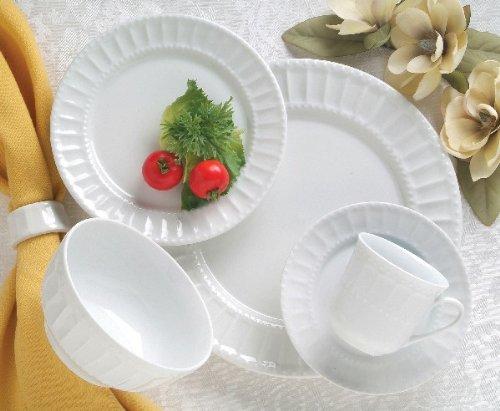 Gibson Regalia 20 Piece Dinnerware Set