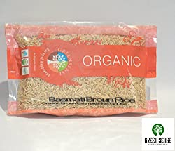 Greensense Organic Tarawari Basmati Brown Rice-500 gms