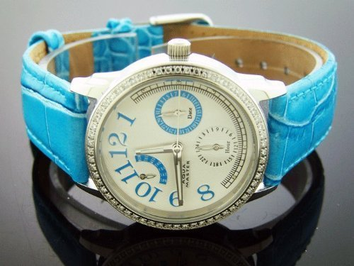 AQUA MASTER AM-50BLU - Reloj de pulsera mujer