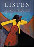 Listen includes Textbook, DVD & 3- CD Set (6th Edition) (0312469659) by Kerman, Joseph