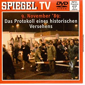 Spiegel tv nr 21 9 november 39 89 das protokoll eines for Spiegel tv download videos