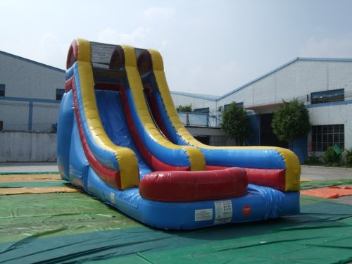 Inflatable drinking water Slides:Inflatable Waterslide -- 18 ft. solitary Lane lively Slide, totally free Shipping, totally free Blower Images