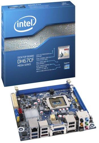 Intel Clear Fork LGA1155 Motherboard (H67 MITX, 1 PCIE x16, 3 SATA, USB 3.0, DDR3)