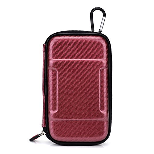 Nuvur ™ Portable Carry Case(Hardshell) In Red//Trippy Stix Essential Oil Vape Pen