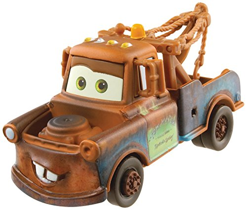Disney/Pixar Cars, 2015 Radiator Springs Die-Cast Vehicle, Mater #1/19, 1:55 Scale (Japanese Robot Dog compare prices)