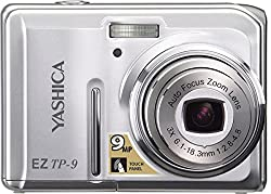Yashica EZ TP-9 Innovate Digital Zoom 9MP Camera With 3x Zoom Touch Screen-Silver