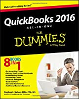 QuickBooks 2016 All-in-One For Dummies Front Cover