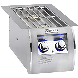 Fire Magic 32814 Built-In Echelon Diamond Double Side Burner by Fire Magic
