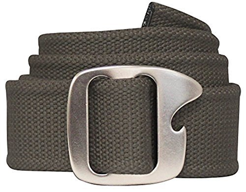 Bison Designs Tap Cap 38mm Belt with Gunmetal Buckle (Belt With Bottle Opener Buckle compare prices)