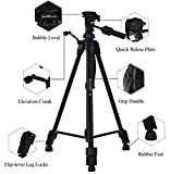 DIGIANT-Camera-Tripod-62-inch-Lightweight-Aluminum-Tripod-for-Canon-Nikon-DSLR-Cameras-and-Camcorders-With-3-Way-Pan-Head-and-Quick-Release-Plate-Black-Carrying-Case-Include