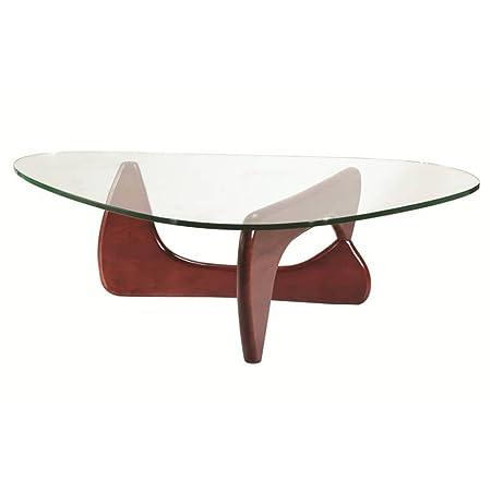 Fine Mod Tribeca Coffee Table, Cherry