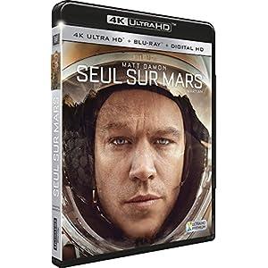 Seul sur Mars [ 4K Ultra HD + Blu-ray + Digital HD]