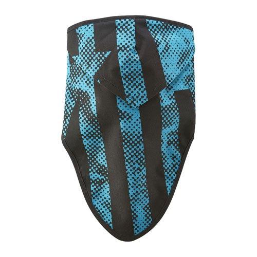 BLUE BLOOD ブルーブラッド SLANT STRIPE FACE MASK LB(レイクブルー) スノーボード アクセサリー(LB(レイクブルー)/*)