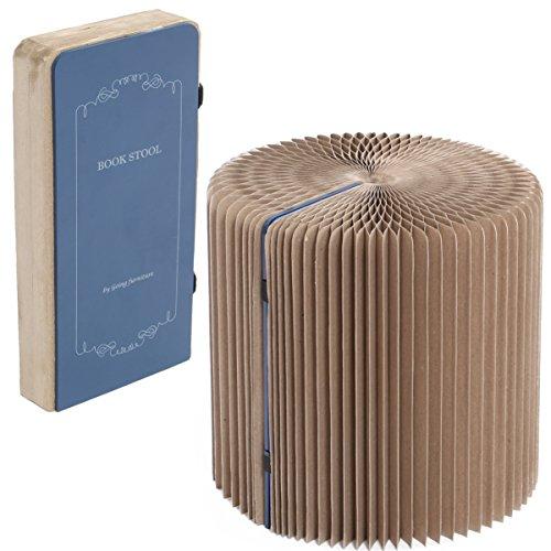 ブックスツール 収納できる本型携帯チェア BS1-243