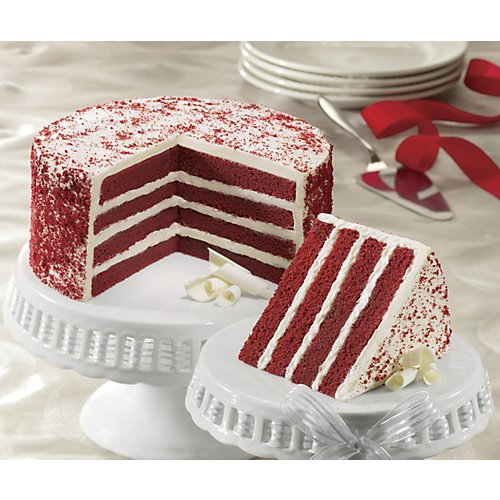 The Swiss Colony Red Velvet Layer Cake