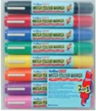 Artline 325T Wallet of 8 Assorted Water Colour Marker