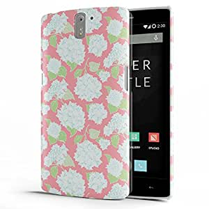 Koveru Back Cover Case for OnePlus One - Pink Etsy Pattern