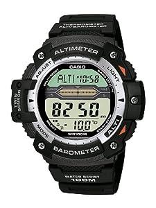 Casio - SGW-300H-1AVER - Montre Homme - Quartz Digitale - Bracelet en Résine Noir de Casio