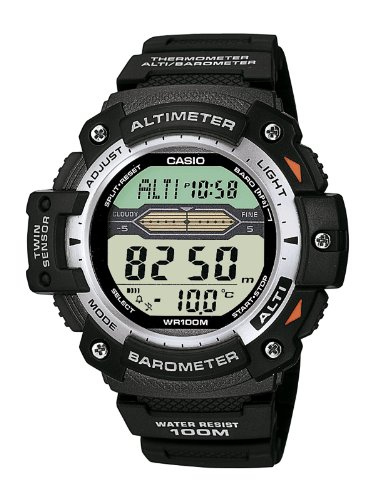 Casio Men's Digital Watch SGW-300H-1AVER With Resin Strap