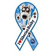 エムズディーエス リボンマグネット THE DOG シベリアン・ハスキー TDG-HUSKY