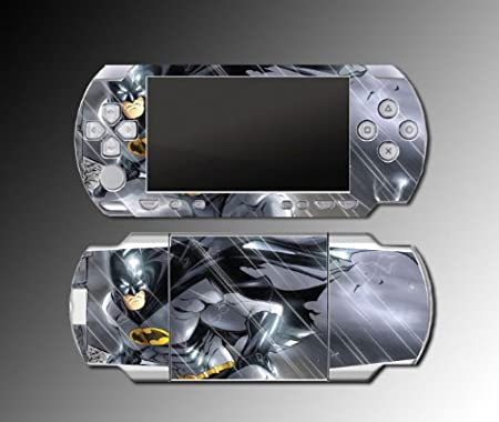 Batman Animated Cartoon Hero Game Vinyl Decal Cover Skin Protector 4 for Sony PSP 1000 Playstation Portable