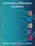 Elementary Differential Equations, with ODE Architect CD (047143339X) by Boyce, William E.