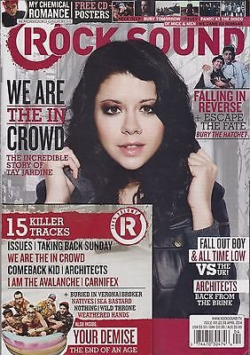 ROCK SOUND Magazine #185 4/2014 TAY JARDINE My Chemical Romance + CD + POSTERS (Like A Rock Ch compare prices)
