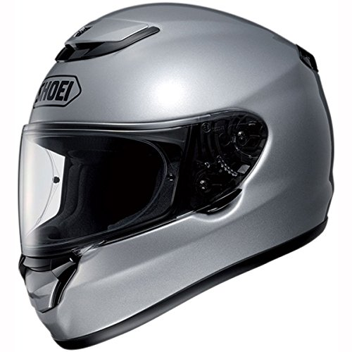 shoei-qwest-plain-light-silver-motorcycle-helmet