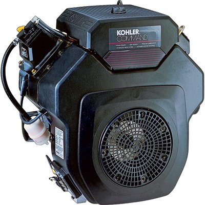Kohler Command V-Twin Ohv Horizontal Engine With Electric Start - 674Cc, 1.437In. X 4.453In. Shaft, Model# Pa-Ch640-3204