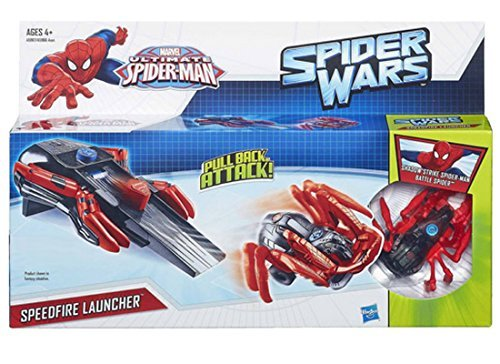 Marvel Ultimate Spider-Man Spider Wars Speedfire Launcher - RED