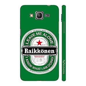 Enthopia Designer Hardshell Case RAIKKONEN LEAVE ME ALONE Back Cover for Samsung Galaxy J5