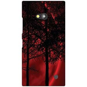 Nokia Lumia 730 Back Cover - Huge Trees Designer Cases