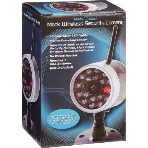 Mitaki-Japan® Wireless Mock Security Camera