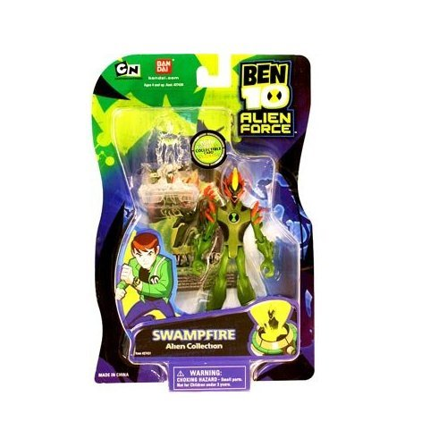 Ben 10 Alien Force 4 Inch Action Figure Swampfire (Ben 10 Alien Force Figure compare prices)