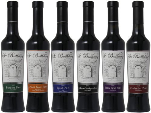St. Barthelemy Cellars Heavenly Sipping Ports Mixed Pack, 6 X 375 Ml