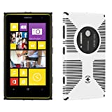 Speck Products CandyShell Grip Case for Nokia Lumia 1020 41 MP Camera Phone - Retail Packaging - White/Black