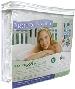 Protect a Bed Bed Bug Protection with Allerzip Smooth Mattress Encasement System - Double 135
