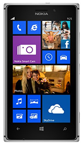 Nokia Lumia 1020 RM-877 GSM Unlocked 32GB Windows 8.1 4G LTE Smartphone - Black (International version, No Warranty)